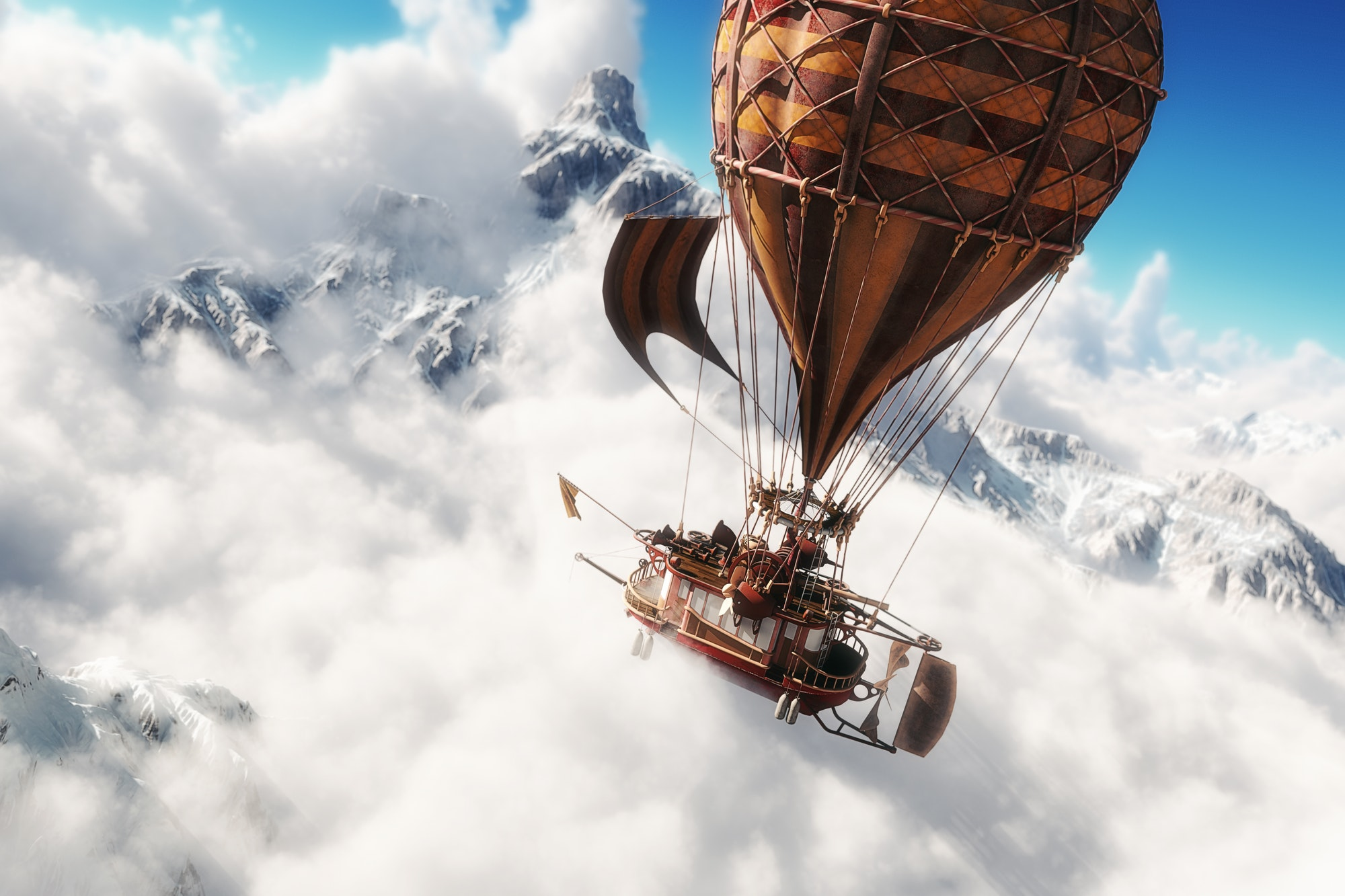 Steam Balloon